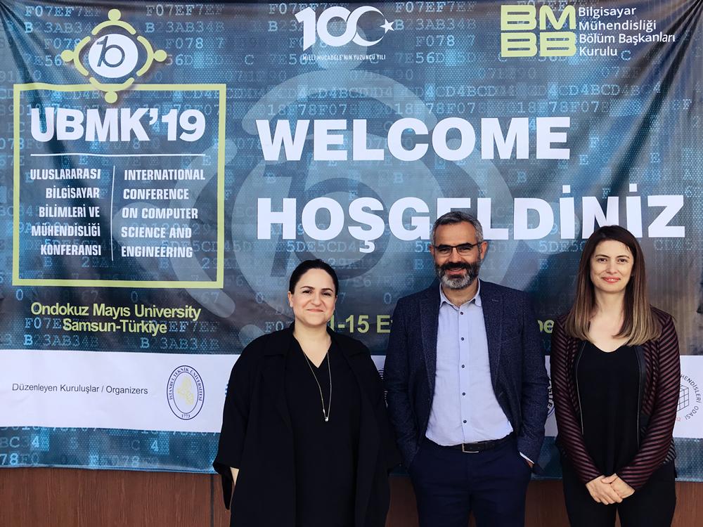 IV. Uluslararası Bilgisayar Bilimleri ve Mühendisliği Konferansı OMÜ'de gerçekleştirildi